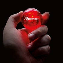 Flashing Bouncing Ball, red